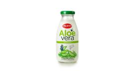 Now Aloe Vera drink ALEO Premium available in 300ml GLASS bottle!
