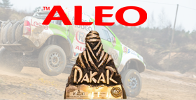 ALEO became sponsor of the team on DAKAR!
