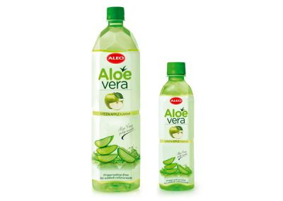 ALEO Green apple flavour