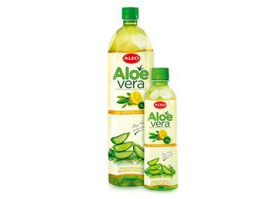 ALEO с зелёным чаем