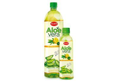 ALEO z zieloną herbatą i sokiem z cytryny