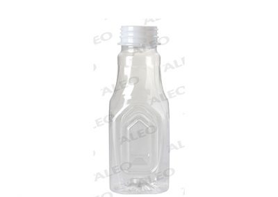 320ml SQUARE PET BOTTLE (38mm CAP)