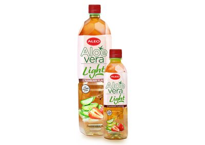 ALEO LIGHT Strawberry flavour