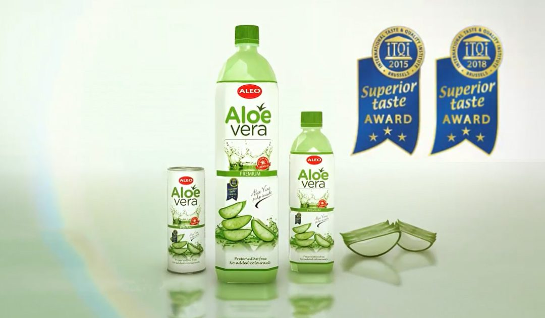 ALEO Premium received the highest – 3 golden stars award for Taste & Quality!