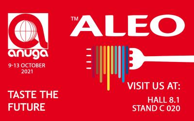 Visit us at Anuga! 9-13 OCTOBER, 2021. Cologne, Germany
